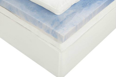 Sleep Innovations Dual Layer Memory Foam Mattress Topper