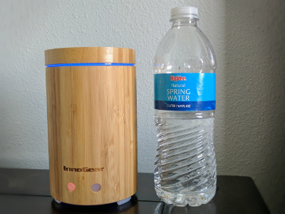 InnoGear Real Bamboo Diffuser Size